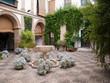 Plantes et fontaines dans le patio du palais - 17569671