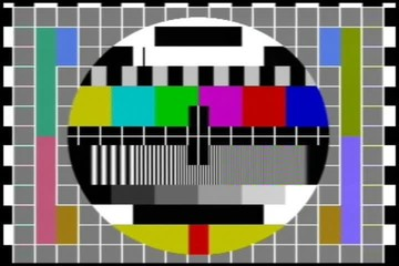 NTSC - TV test chart with audio