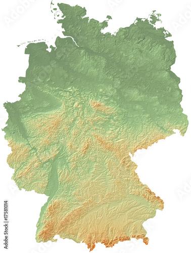 Deutschland - Relief