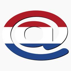 Dutch e-mail address AT symbol