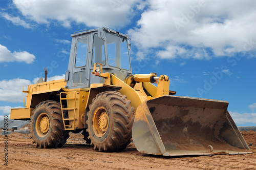 wheel loader bulldozer