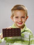 Mi super barra de chocolate.