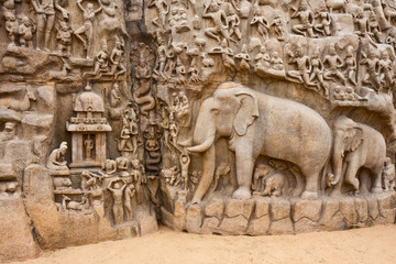Arjuna's Penance Monolith