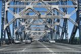 Brisbane Bridge, Australia, August 2009 poster
