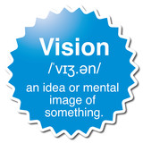 Vision symbol poster