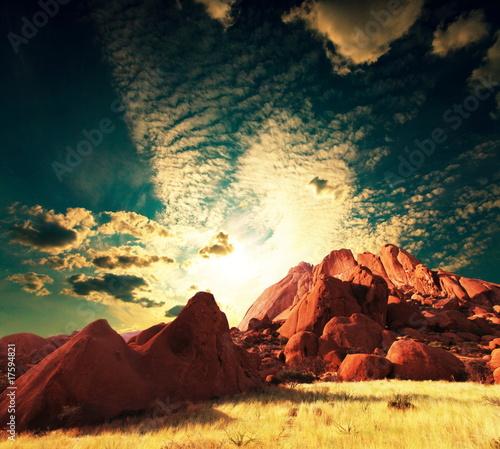 African mountain - 17594821