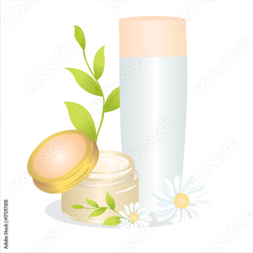 cosmetics illustration
