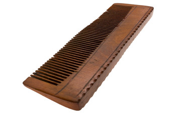 Old Wooden hairbrush