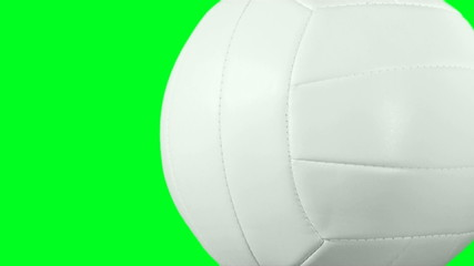 Volleyball against green screen loop - HD