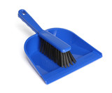 Cleaning equipment - dustpan and brush
