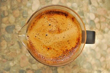 Coffee in pot