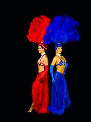 back to back vegas showgirls