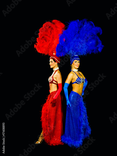 back to back vegas showgirls