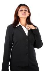 Irritated Indian Businesswoman