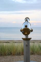 Beobachtung am Meer