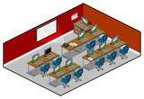Computer Room Isometric Series.