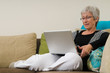Senior Woman On A Laptop - 4