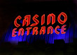 Casino Entrance Sign