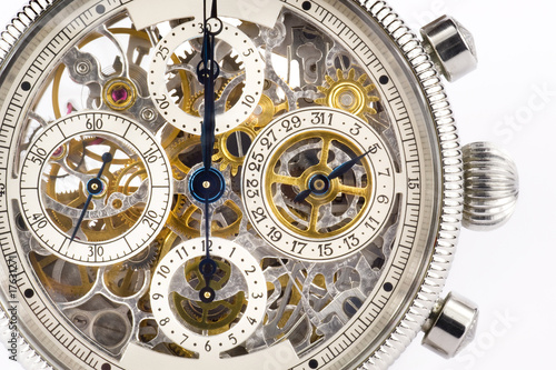Leinwandbild Motiv Chronograph