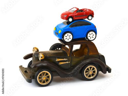 Papiers peints Vintage voitures Toy cars