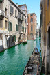 One of channels in Venice,