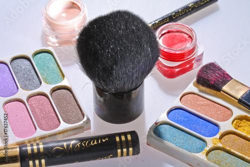 Fototapeten,weiblich,set,hübsch,makeup