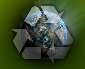Recycling planet earth