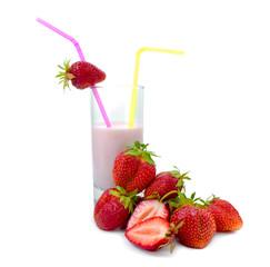 Berry yoghurt.