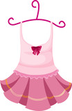 Fototapety hanging dress