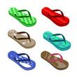 beach sandals set