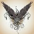 grunge wing