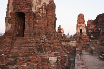THAILAND, Ayutthaya, the ruins of the city's ancient temples