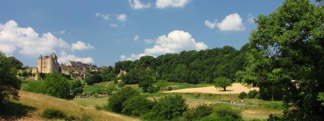 Salignac et son Château, Périgord, Quercy, Limousin
