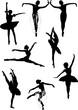eight ballet dancers