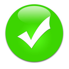 bottone verde spunta