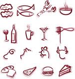 Fototapety Restaurant Menu icons
