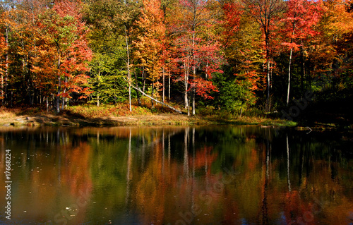 autumn landscape in Pennsylvania