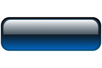Button blau leer