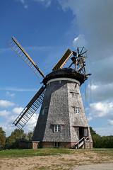 Usedom-Windmühle in Pudagla