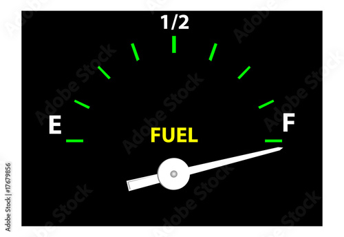 Fuel Guage (Vector)