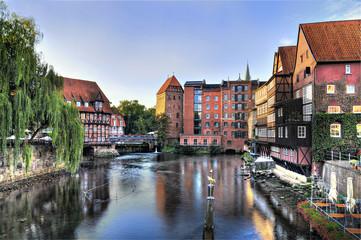 Hansestadt Lüneburg Abtsmühle und Lüner Mühle