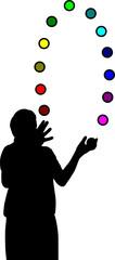 jonglieren-trainieren-zusammenspiel-vektor
