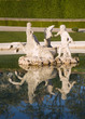 Vienna - fountain in Belvedere palace