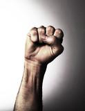 poignet poing levé libération révolte poster