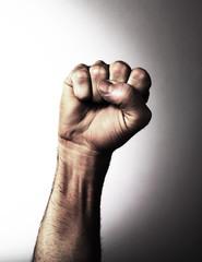 poignet poing levé libération révolte