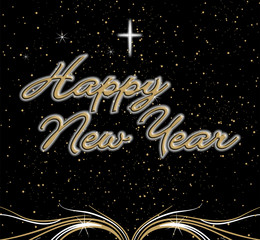 Happy New Year - Feliz Ano Novo - 2010