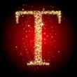 letter star T