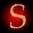 letter star S