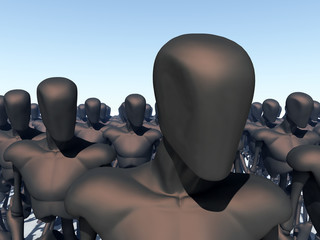 Faceless Workforce