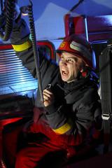 Firefighter scream